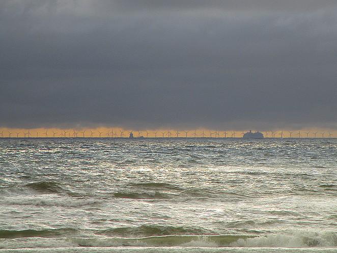 windmolens-zee