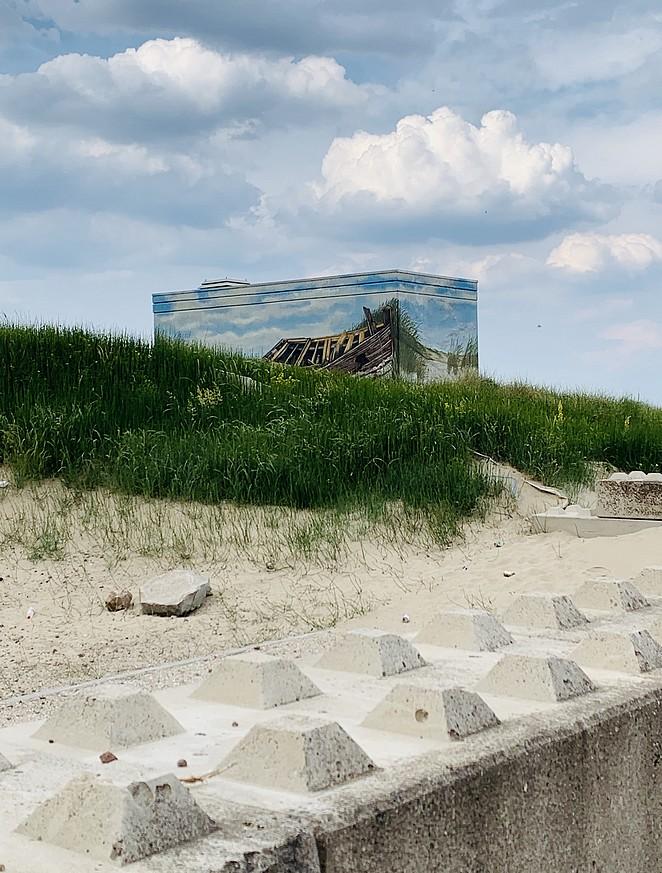 elektriciteitshuisje-duinen