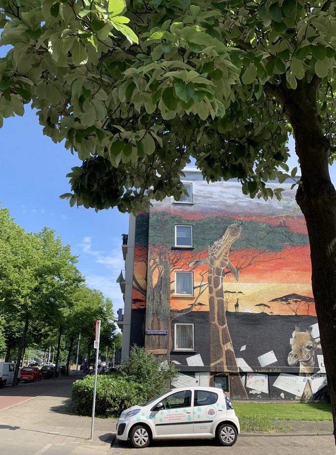 giraf-street-art-den-haag