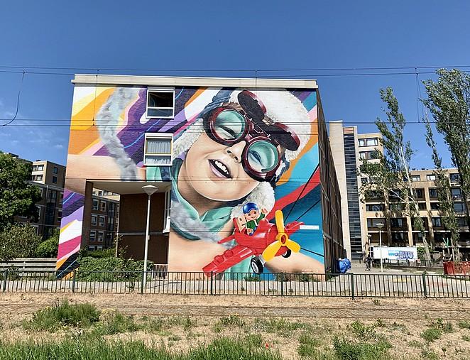 mooie-muurschildering-den-haag