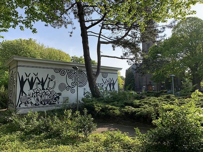 muurschildering-madestein