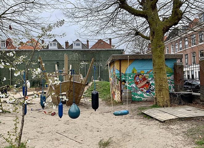 speeltuintje-met-street-art-den-haag