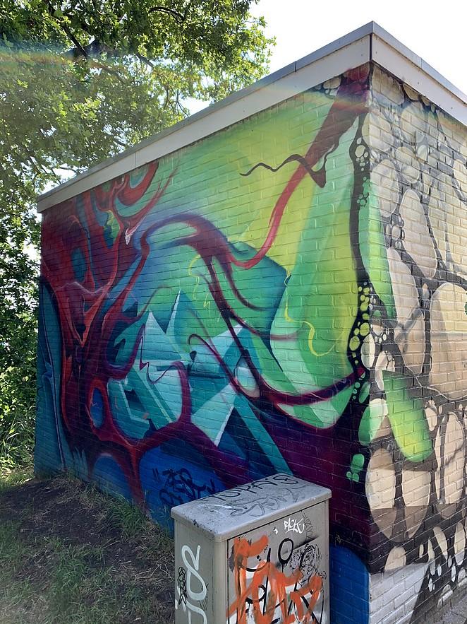 street-art-elektriciteitshuisje-zuiderpark