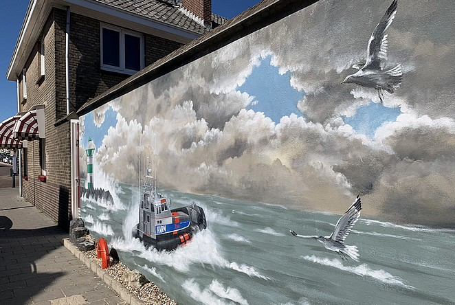 street-art-havenhoofd-scheveningen