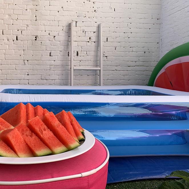 Opblaasbaar zwembad in de tuin: opblaasbadje of familiebad