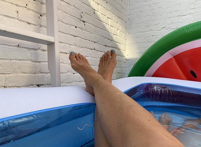 opblaaszwembad
