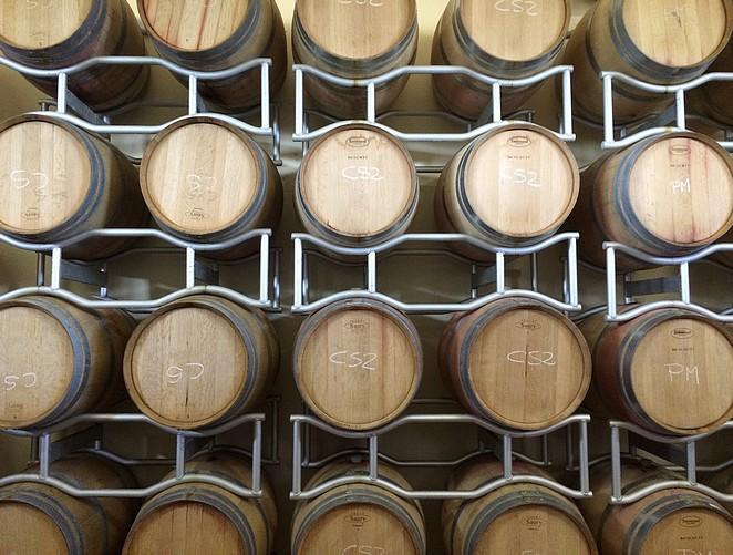 bolgheri-wijnvaten