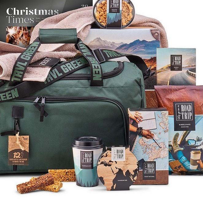 Kerstpakketten met het thema reizen of lekkers uit Spanje en Italië