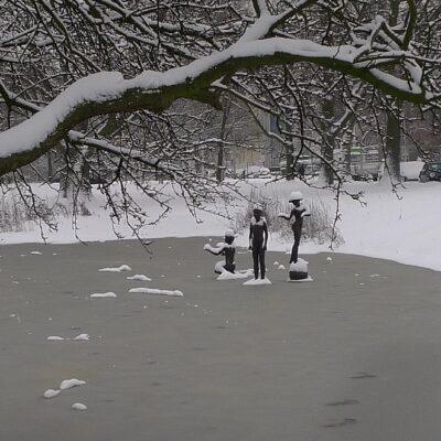 Sneeuw in Nederland! Winterse plaatjes uit eigen land!