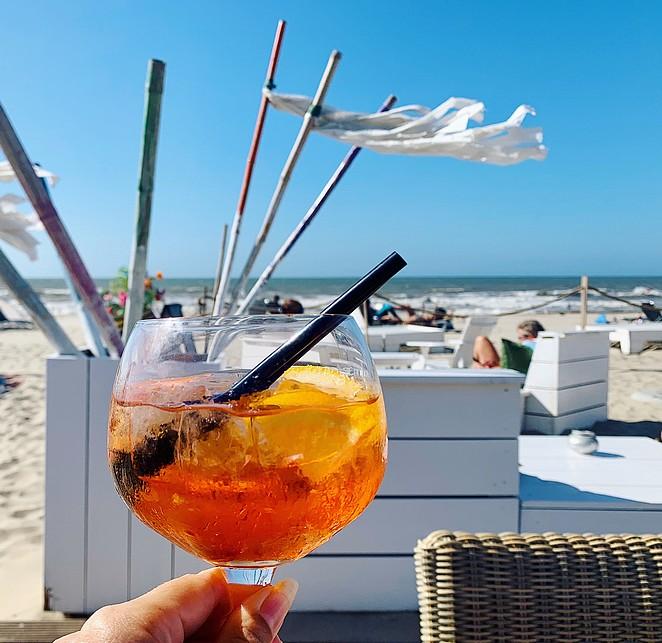 drankje-strand