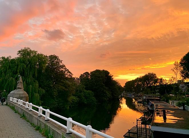 zonsondergang-den-haag